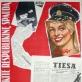 """Juozas Galkus, plakatas """"Prenumeruokite respublikinę spaudą"""". 1959 m."""