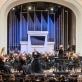 Justina Gringytė, Keri-Lynn Wilsson ir Lietuvos nacionalinis simfoninis orkestras. D. Matvejevo nuotr.