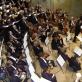 Krzysztof Penderecki, Vytautas Juozapaitis, Lietuvos nacionalinis simfoninis orkestras, Kauno valstybinis choras. LNF nuotr.