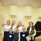 Kristina Vasiliauskaitė su jaunaisiais pianistais