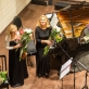 "Trio ""Kaskados"" po koncerto. A. Svirsko nuotr."
