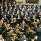 Kauno valstybinis choras, Nacionalinis simfoninis orkestras ir Modestas Pitrėnas. D. Matvejevo nuotr.