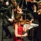 Lina MarijaSongailė, dirigentas Tomas Ambrozaitis, Klaipėdos valstybinio muzikinio teatro orkestras. O. Kasabovos nuotr.