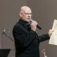 Koncerto vedėjas Viktoras Gerulaitis. D. Bielkausko nuotr.
