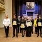 Konkurso laureatai, diplomantai ir žiuri nariai. M. Mikulėno nuotr.