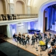 """Kremerata Baltica"" koncerto akimirka. D. Matvejevo nuotr."
