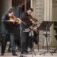 Sergejus Krylovas, Maksimas Rysanovas, Aleksandras Rammas ir Lietuvos kamerinis orkestras. D. Matvejevo nuotr.