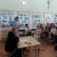 Kursų dalyviai Palendrių vienuolyne. Organizatorių archyvo nuotr.