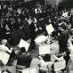 Laurynas Vakaris Lopas diriguoja J. Tallat-Kelpšos konservatorijos orkestrui filharmonijoje