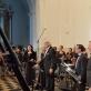 Juozas Domarkas ir Lietuvos nacionalinis simfoninis orkestras. Organizatorių nuotr.