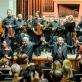 Lietuvos nacionalins simfoninis orkestas, Modestas Pitrėnas, Giedrius Kuprevičius. D. Matvejevo nuotr.