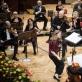 Milanas Radičius, Mirga Gražinytė-Tyla ir Lietuvos nacionalinis simfoninis orkestras Varšuvos filharmonijoje. D. Matvejevo nuotr.