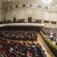 Lietuvos nacionalinis simfoninis orkestras Varšuvos filharmonijoje. D. Matvejevo nuotr.