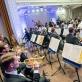 Lietuvos nacionalinis simfoninis orkestras ir Modestas Pitrėnas. D. Matvejevo nuotr.