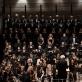 Lietuvos valstybinis simfoninis orkestras, Kauno valstybinis choras, solistai ir Gintaras Rinkevičius. G. Jauniškio nuotr.