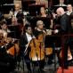 "Orkestrui ""Filarmonica della Scala"" diriguoja Christophas Eschenbachas. M. Aleksos nuotr."