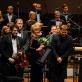Latvijos nacionalinis simfoninis orkestras ir dirigentas Andris Poga. Organizatorių nuotr.