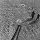 "Algimantas Kezys, ""Les Invalides kiemas"", Paryžius. 1962 m."
