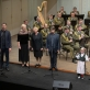 Lietuvos kariuomenės orkestro koncerto akimirka. A. Pliadžio nuotr.