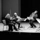 """Liudas Mockūnas ir kvartetas """"Chordos"""". G. Grigonio nuotr."""