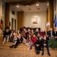 Aleksandro Livonto atminimo vakaro dalyviai ir svečiai. J. Anusauskienės nuotr.