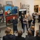Ekskursija po NDG atnaujintą ekspoziciją. A. Volungės nuotr.