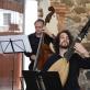Luca Stevenato (kontrabosas), Gianluca Geremia (teorba). D. Klovienės nuotr.