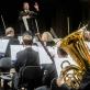 Modestas Pitrėnas ir Lietuvos nacionalinis simfoninis orkestras. LNF nuotr.
