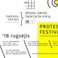 Protesto festivalis vasaros paviljone