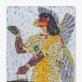 Michael Rakowitz. Nematomo priešo būti neturėtų (Nimrudo šiaurės vakarų rūmai, G salė, 23 plokštė), 2019. Michael Rakowitz, Barbaros Wien galerija, Berlynas. Fot. JeanBaptiste Béranger