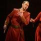 """Paulius Bagdonas (Makbetas) ir Raminta Vaicekauskaitė (Ledi Makbet) operoje """"Makbetas"""". M. Aleksos nuotr."""