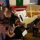 Thomo Manno festivalio akimirka: koncertuoja Kauno kvartetas. D. Kirilausko nuotr.