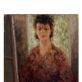 """Marija Račkauskaitė-Cvirkienė. """"Autoportretas"""". Apie 1953 m. Iš Nacionalinio M.K. Čiurlionio dailės muziejaus archyvo"""