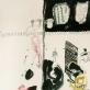 """Marta Vosyliūtė. Scenografijos eskizas Chucko Palahniuko """"Kovos klubui"""", rež. Vidas Bareikis. Valstybinis jaunimo teatras. 2012 m."""