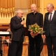 Maskvos kompozitorių sąjungos pirmininkas Olegas Galachovas, Arvydas Malcys, ambasadorius Remigijus Motuzas Maskvoje po autorinio koncerto