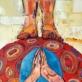 """Andrius Makarevičius, """"Meditacija ant moliūgo"""", nuotr. autoriaus"""