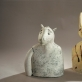 """Meri Wells, """"Kartais puiku būti kitokiam"""" ir """"Ką?.  2002 m. Panevėžio miesto dailės galerijos fondų nuotr."""