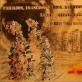 """Vytautas Tomaševičius, """"Miesto vartai"""", 60x90, popierius tonuotas kava, grafitas, pelenai, suplėšyti rinkimų agitacijos biuleteniai, sveiki rinkimų agitacijos biuleteniai supakuoti į metalinę talpą nuo cigaro, 2018 m. Autoriaus nuotr."""
