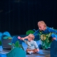"""Scena iš šokio spektaklio """"Miškas"""". D. Putino nuotr."""