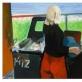 """Modernaus meno centro atlikta Kosto Dereškevičiaus paveikslo """"Ketvirtadienis"""" (1976) inscenizacija. Karolio Sabeckio nuotrauka"""