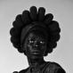 "Zanele Muholi, ""Ntozakhe II, Parktown"". 2016 m. Leidus autoriui, ""Stevenson"", Keiptaunas / Johanesburgas, ir ""Yancey Richardson"", Niujorkas. © Zanele Muholi"