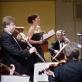 """Orkestras """"Musica humana"""" ir solistė Raminta Vaicekauskaitė. D. Matvejevo nuotr."""