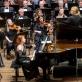 Mūza Rubackytė, Keri-Lynn Wilsson ir Lietuvos nacionalinis simfoninis orkestras. D. Matvejevo nuotr.