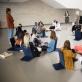 """Unikalus Baltijos šalyse Nacionalinės dailės galerijos edukacinis projektas """"Kažkoks keistas menas"""", kuriame dalyvauja 25 paaugliai"""