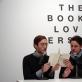 "Fragmentas iš Marko Geffriaud performanso ""The Book Lovers"" vieno vakaro (pop-up) knygyne ""de Appel"" meno centre Amsterdame. 2014 m."
