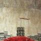 """Aušros Teresės Tuminaitės-Kučinskienės gobeleno """"Šimtmečių Vilnius – Lietuvos sostinė"""" fragmentas. Autorės nuotr."""
