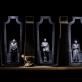 """Scena iš spektaklio """"Oidipo mitas. Tėbų trilogija"""". D. Matvejevo nuotr."""