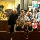 """Koncerto """"Orkestras iš arti"""" repeticijoje apsilankė vaikai. Nuotrauka iš asmeninio archyvo"""