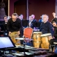 "Orkestras ""Trimitas"" ir ansamblis ""Giunter Percussion"". D. Matvejevo nuotr."