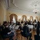 "Orkestro ""Accademia Baltica"" repeticija LMTA, dir. M. Barkauskas. M. Endriuškos nuotr."